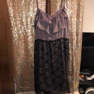 Xhileration ruffle mini dress